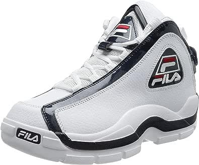 Fila Scarpe Sneakers da Uomo Grant Hill 2 in Pelle Bianca 1010788-01M