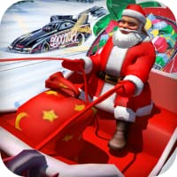 Santa vs Lada VAZ Racing 3D