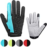 coskefy Cycling Gloves Mountain Road Bike Gloves Gel Padded Riding Gloves MTB Gloves Outdoor Sports Gloves (Half Finger & Ful