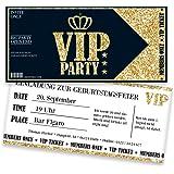 Einladungskarten zum Geburtstag für VIP   30 Stück   Inkl. Druck Ihrer Texte   Individuelle Einladungen   Jugendweihe   Kindergeburtstag   Karte Einladung   Einladungskarte Jungen Mädchen
