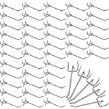 Belle Vous Ganchos para Panel Perforado Individual de Acero (Pack de 50) 10,5 cm Clavija Resistente Expositor de Pared de Met