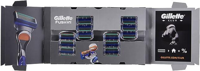 Gillette Fusion Rasierklingen für Männer, Briefkastenfähige Verpackung, 16Stück