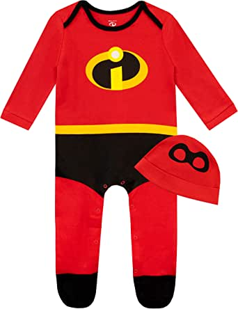 Disney Baby Boys Sleepsuit and Hat Set The Incredibles