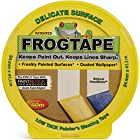 Frog Tape Yellow Delicate Surface Painters Masking Tape 24mm x 41.1m. Indoor painting and decorating for sharp lines and…