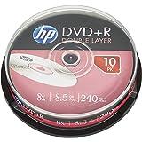 Hp - Dvd+r doble capa 8x tarrina 10 uds