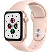 Neu Apple Watch SE (GPS, 40 mm) Aluminiumgehäuse Gold, Sportarmband Sandrosa