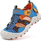 Sandalias para Niños Casual Verano Strap Sandalias-Zapatillas de Material sintético para niño