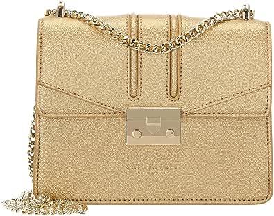 Seidenfelt Manufaktur Damen Umhängetasche gold One Size