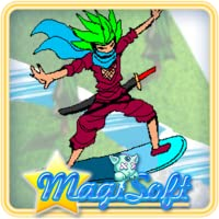 Ninja Snow Boarder Game Pro