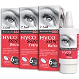 Hycosan Extra - Triple Pack - Preservative Free Eye Drops - Sodium Hyaluronate 0.2% - for Treatment of Dry Eyes - 3x7…