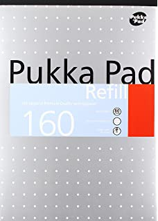 PUKKA A4 REF PAD 160P NARROW RULED 6253
