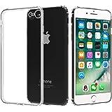 Migeec Coque iPhone SE 2020 iPhone 7 iPhone 8 - Souple TPU Silicone [Shock-Absorption] Ultra Mince Étui pour iPhone SE 2020/7