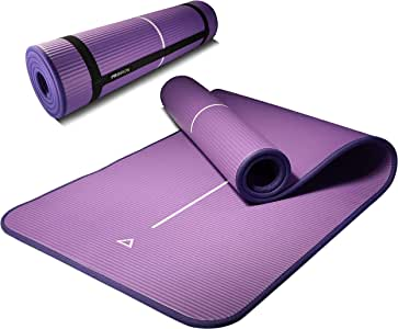 PROIRON Fitness Matte f/ür Zuhause Fitnessmatte rutschfest Gymnastikmatte rutschfest NBR Material 183cm x66cm x1cm 180cm x 61cm x 15mm
