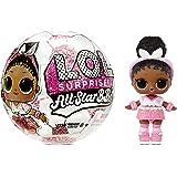 LOL Surprise All-Star BBs, Squadra di calcio- Bambola luccicante a tema sportivo con 8 sorprese e accessori alla moda, All-St