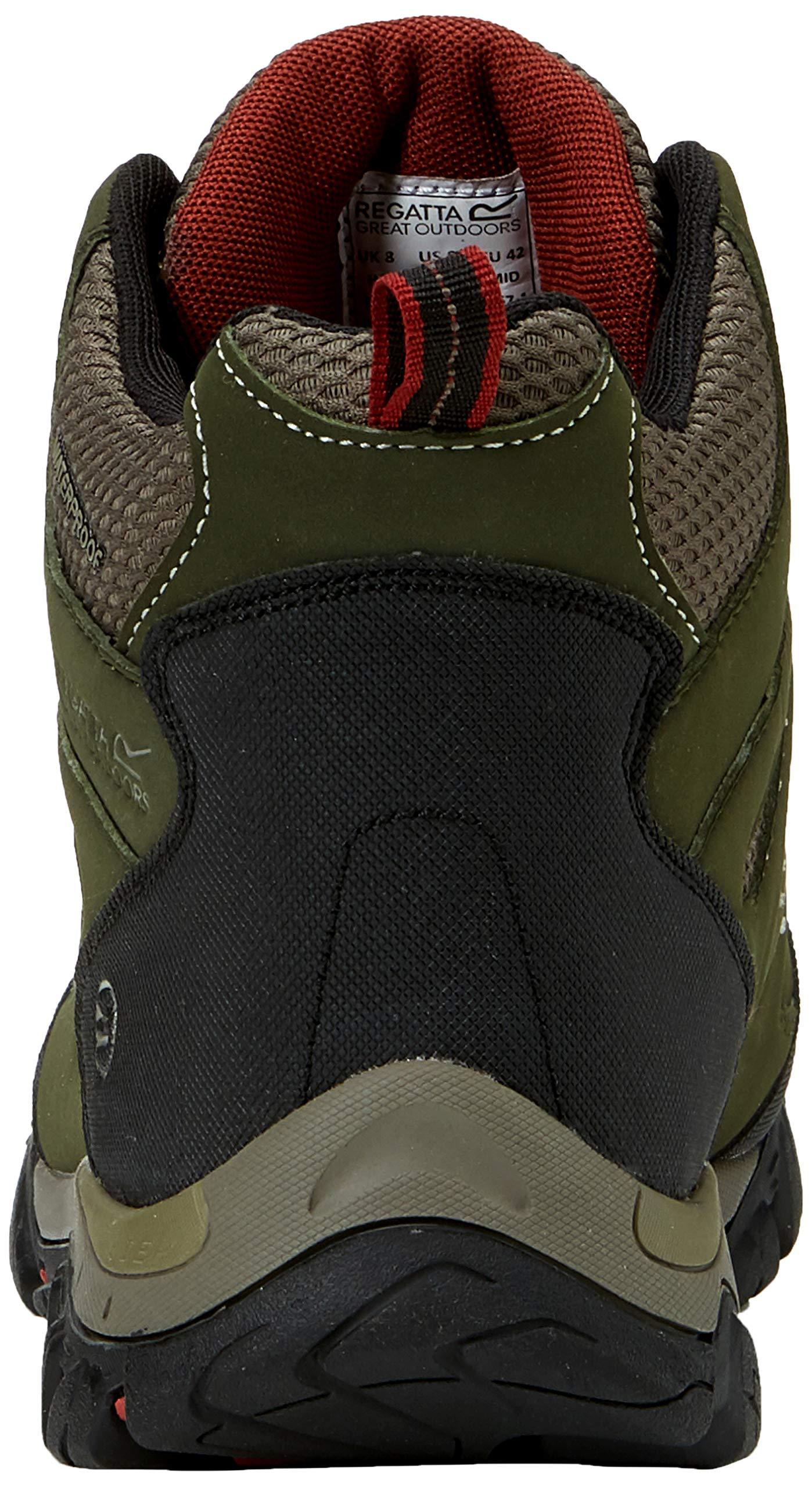 Regatta Men's Holcombe IEP Mid High Rise Hiking Boots 2