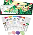 Vitablossom Hemp Beauty Gift Set-12PCS W/Eye Cream, Detergente per il viso, Toner, Crema idratante, Sapone per il viso, Balsamo per le labbra, etc, Migliori regali per le donne, Regalo per lei