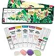 Vitablossom Hemp Beauty Gift Set-12PCS W/Eye Cream, Detergente per il viso, Toner, Crema idratante, Sapone per il viso, Balsa