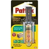 Pattex Power Epoxy Saldatutto Mix 5 Minuti, Forte Colla Epossidica, Bicomponente a Elevata Tenuta Finale, Multiuso…