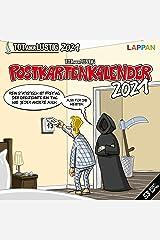 Tot, aber lustig! Postkartenkalender 2021 Kalender