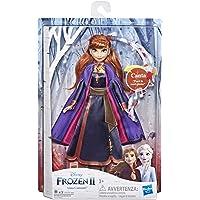 Hasbro Disney Frozen - Anna Cantante, Bambola Elettronica con Abito Viola, Ispirato al Film Frozen 2, Multicolore…