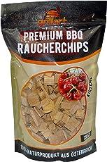 grillart XL Premium BBQ Räucherchips Apfel, Buche, Kirsche