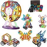 Morkka Magnetische bouwstenen 64delige magneten Bouwstenen Bouwblokken Educatief speelgoed Set Creatieve speelgoedauto Geweld