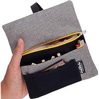 Porta tabacco, cartine, filtri e accendino - Astuccio Portatabacco