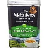 McEntee's Irish Breakfast Tea 500g Tin - vakkundig gemengd in Ierland. Een traditionele Ierse melange van thee uit Ceylon en