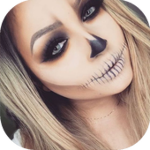 Halloween Makeup (Girl Zombie Tutorial Make-up Halloween)