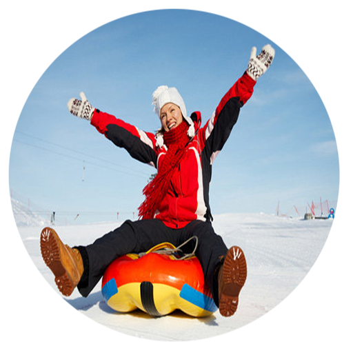 Rules to play Snow Tubing (Snow Tubing)