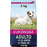 Eukanuba Cibo Secco per Cani Adulti Attivi di Taglia Piccola, Ricco di Pollo Fresco, 3 kg