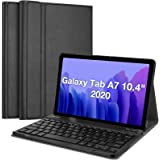 ProCase Galaxy Tab A7 10.4 Inch 2020 Keyboard Case (SM-T500 T505 T507), Protective Cover Case with Detachable Wireless Keyboa