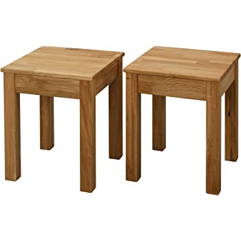 Krok Wood Tomas 2 X Esszimmer Stuhl Massivholz Eiche Natur 100