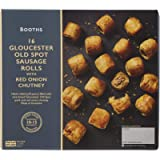 Booths Gloucester Old Spot Sausage Rolls with Red Onion Chutney, 480g