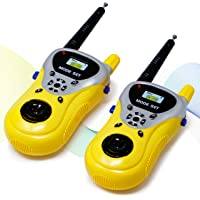 Zest 4 Toyz Battery Operated Walkie Talkie Toy with 100 Feet Range for Kids,