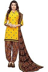 Oomph! Women's Unstitched Georgette Salwar Suit Dupatta Material   stanju