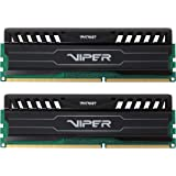Patriot 16GB(2x8GB) Viper III DDR3 1866MHz (PC3 15000) CL10 Desktop Memory With Black Mamba Heatsink - PV316G186C0K
