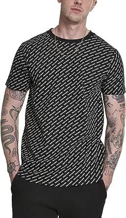 Urban Classics Men's Allover Logo Tee T-Shirt