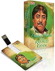 Music Card: Classical Stalwarts - Ustad Rashid Khan - 320 Kbps MP3 Audio (4 GB)