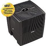 Venta Luftwäscher LW25 COMFORTPlus Luftbefeuchter und Luftreiniger für Räume bis 45 qm, brillant schwarz, mit digitaler Steuerung