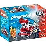 PLAYMOBIL 9467 Spielzeug-Feuerwehr-Löschroboter