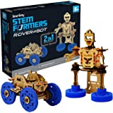 Smartivity STEMFormers Rover Bot STEM STEAM Educational DIY Building Construction Activity Toy Game Kit, Easy Instructions, E