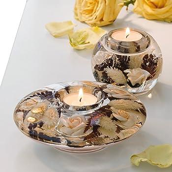 Dreamlight Teelichthalter 3er-Set schwarz