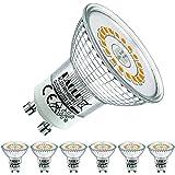 EACLL Ampoules LED GU10 Blanc Chaud Source de lumière 6W 2700K 610 Lumens, Équivalent incandescence halogène 55W. 120 ° Large
