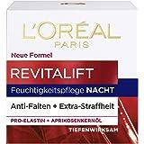 L'Oréal Paris Nattvård, vitalift, anti-aging ansiktsvård, anti-rynkor och extra stramhet, pro-elastin och aprikoskärnolja, 50