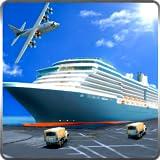 Transport Tycoon Frachtschiff Simulator 3D: Real Euro Jetski Transporter Kreuzfahrt Fahren...
