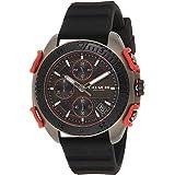 Coach Mens Quartz Wrist Watch, Black Silicone- 14602453