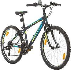 BIKE SPORT LIVE ACTIVE 24 Zoll Bikesport Rocky Jugend Fahrrad jungenfahrrad Kindefahrrad Kinderrad Mädchenfahrrad, Shimano 18 Gang