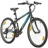 BIKE SPORT LIVE ACTIVE 24 Zoll Bikesport Rocky Jugend Junge Fahrrad Kindefahrrad Kinderrad Mädchenfahrrad, Shimano 18 Gang