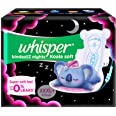 Whisper Bindazzz Nights Koala Soft Sanitary Pads, XXX-Large+ Pack of 8 Napkins